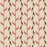 Seamless pattern with branches Royalty Free Stock Photography