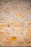Seamless pattern of the  brick wall Stock Photography