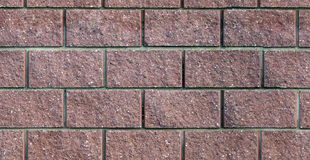 Seamless pattern of bricks Stock Photos
