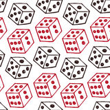 Seamless pattern with bricks Stock Photos