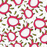 Seamless pattern with bright colorful image of Stock Photo