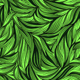 Seamless pattern with bright leaves Royalty Free Stock Photos