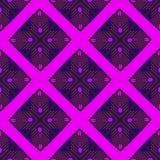 Seamless pattern bright scarlet geometric shapes royalty free illustration