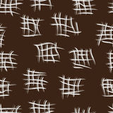 Seamless pattern with brown background Royalty Free Stock Photo