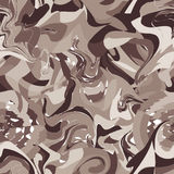 Seamless pattern with brown blobs Stock Images