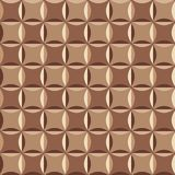 Seamless pattern in brown colors Royalty Free Stock Photos