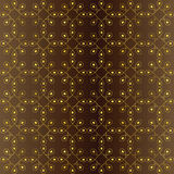 Seamless pattern of brown and gold tones.Vector illustration Royalty Free Stock Image