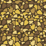 Seamless Pattern - Brown Spots Royalty Free Stock Photo