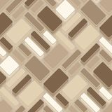 Seamless tile pattern. Seamless pattern with brown tiles Royalty Free Stock Photos