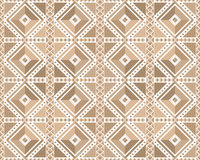 Seamless pattern in brown Royalty Free Stock Image