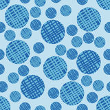 Seamless Pattern with Bubbles. Stock Photography