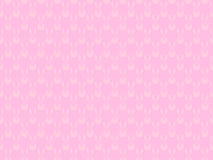 Seamless pattern with bunnies on a pink background. Happy easter. Vector Stock Image