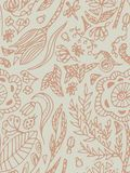 Seamless pattern with butterflies, beetles and flowers. Freehand drawing,beige, pastel color. Seamless pattern with butterflies, beetles and flowers. Freehand vector illustration