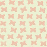 Seamless pattern of butterflies Stock Photo