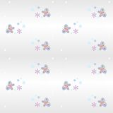 seamless pattern- butterfly stock photography