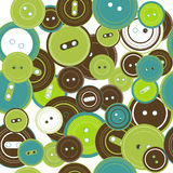 Seamless pattern with buttons Royalty Free Stock Photography