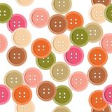 Seamless pattern with buttons Royalty Free Stock Photo