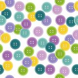 seamless pattern with buttons Royalty Free Stock Image