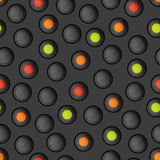 Seamless pattern with buttons Royalty Free Stock Images