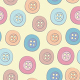 Seamless pattern of buttons Royalty Free Stock Photos