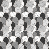 Seamless pattern with cactus Stock Image