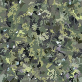Seamless pattern camouflage. For forest Stock Photos