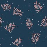 Leaves texture pattern.Watercolor floral background. vector illustration