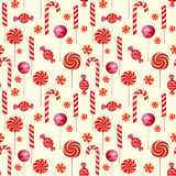 Seamless  pattern with candies. Stock Images