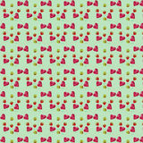 Seamless pattern of candy hearts Stock Images