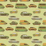 Seamless pattern car Royalty Free Stock Photo