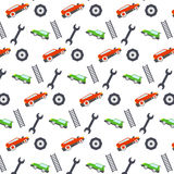 Seamless pattern. Car theme. Stock Images