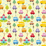 Seamless pattern Car Royalty Free Stock Photography