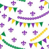 Seamless pattern for carnival, festival vector illustration