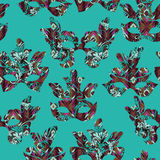 Seamless pattern with carnival mask Royalty Free Stock Photography
