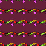 Seamless pattern with carrots Royalty Free Stock Image