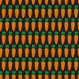 Seamless pattern with carrots Royalty Free Stock Photography