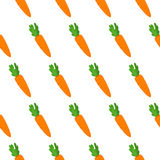 Seamless pattern with carrots Stock Photo