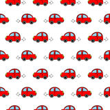 Seamless pattern with cars Royalty Free Stock Photo