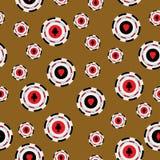 Seamless pattern casino chips Stock Photography