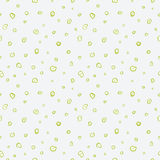 Seamless pattern. Casual polka dot texture. Stylish doodle. Vector Confetti Background . Modern Stock Photography