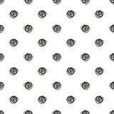 Seamless pattern. Casual polka dot texture. Stylish doodle. Vector seamless pattern with casual polka dot texture. Stylish doodle, sketch Royalty Free Stock Photos