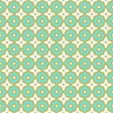 Seamless pattern ceramic tile design. With floral ornate.Endless texture.vector illustration Royalty Free Stock Photography