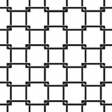 Seamless pattern of chain fence Stock Photo