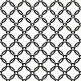Seamless pattern of chain fence Stock Image