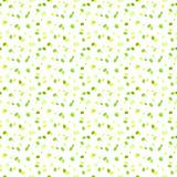 Seamless pattern with chaotic green dots Stock Photo