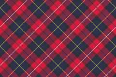 Seamless pattern check plaid fabric texture Stock Photo