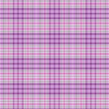 Seamless pattern of checkered cotton or linen fabric colors. Stock Photography