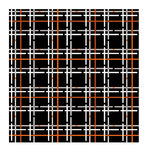 Seamless pattern of checkered fabric Stock Photo