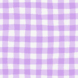 Seamless pattern with checkered geometric texture Royalty Free Stock Photography
