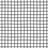 Seamless pattern with checkered geometric texture Stock Photo